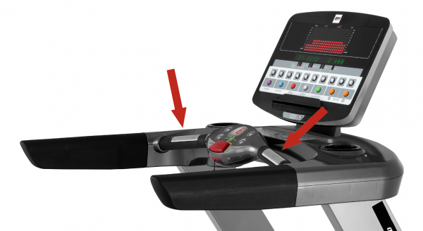Běžecký pás BH Fitness LK6800 snímače tepu