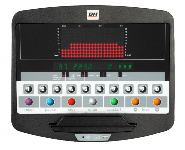 Rotoped BH FITNESS LK 7200 LED pc