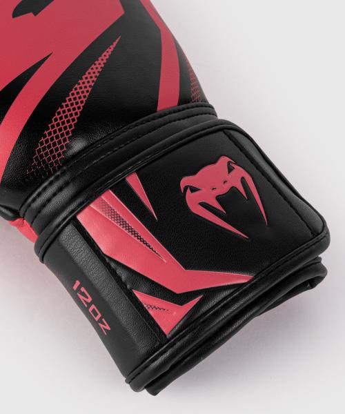Boxerské rukavice Challenger 3.0 black coral VENUM omotávka