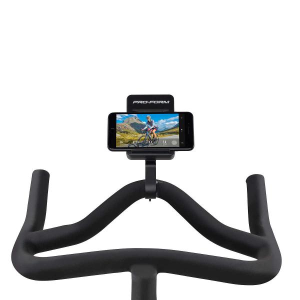 Cyklotrenažér Proform TDF CLC držát na tablet, telefon