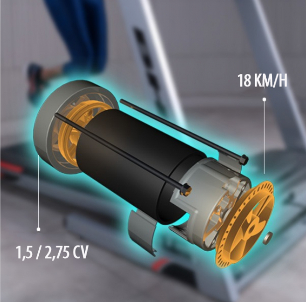 Běžecký pás BH FITNESS PIONEER R3 motor