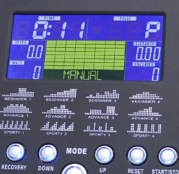 Eliptický trenažér BH Fitness EasyFlex detail počítače