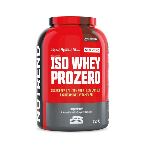NUTREND Iso Whey ProZero 2250 g