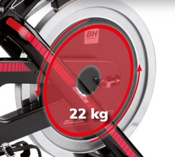 Cyklotrenažér BH Fitness SB2.6 setrvačník