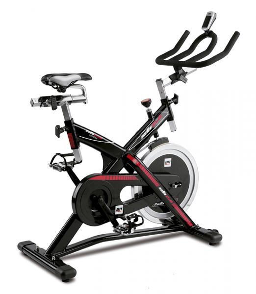 Cyklotrenažér BH Fitness SB2.6 z profilu