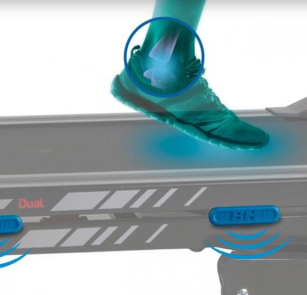 Běžecký pás BH Fitness F2W odpružení