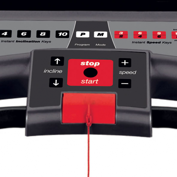Běžecký pás BH Fitness i.F2W DUAL tlačítka pro rychlé nastavení