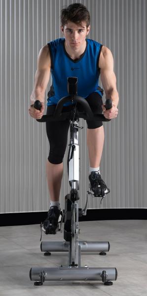 Cyklotrenažér BH FITNESS STRATOS promo fotka 3