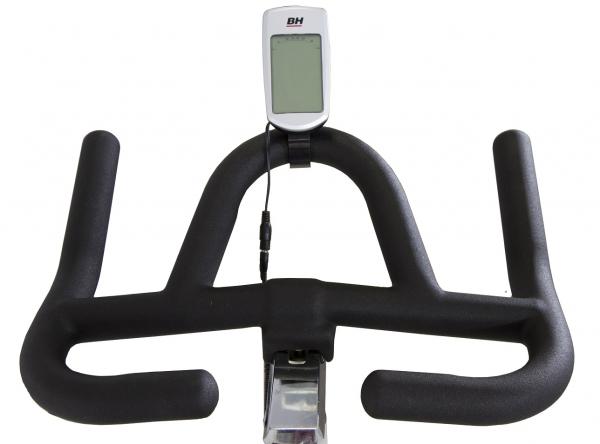 Cyklotrenažér BH FITNESS STRATOS triatlonová řidítka