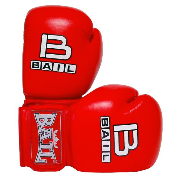 BAIL boxerské rukavice Leopard červené