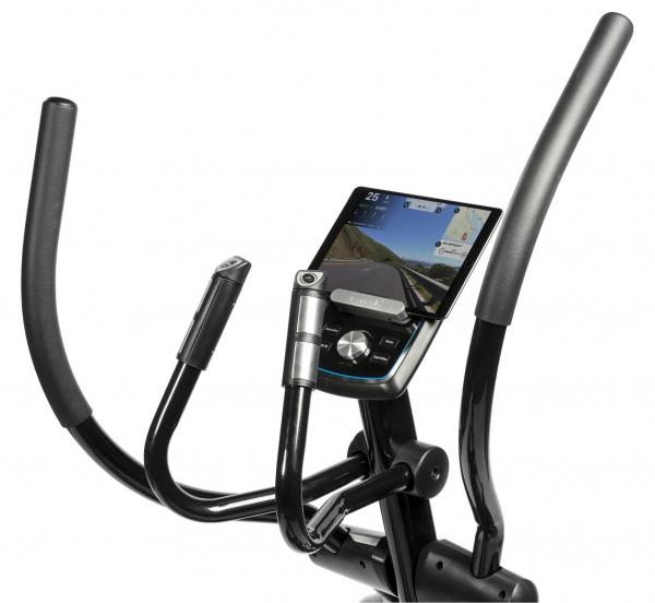 Eliptický trenažér FLOW Fitness X4i držák tablet