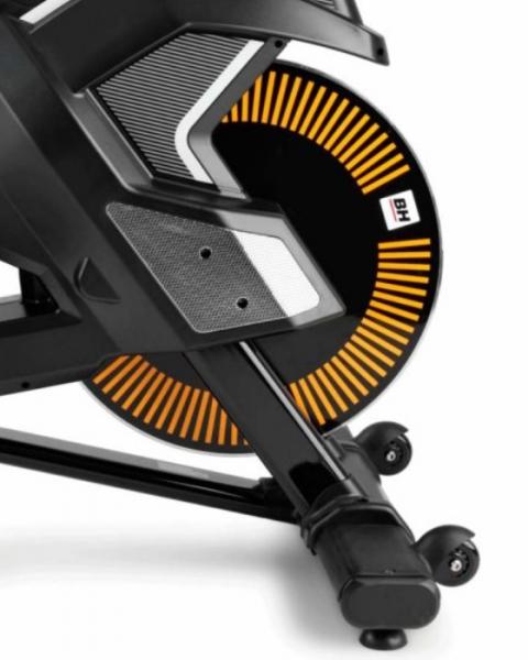Cyklotrenažér BH Fitness Super Duke transportní kolečka
