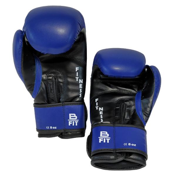 Boxerské rukavice dětské B-fit BAIL modré inside