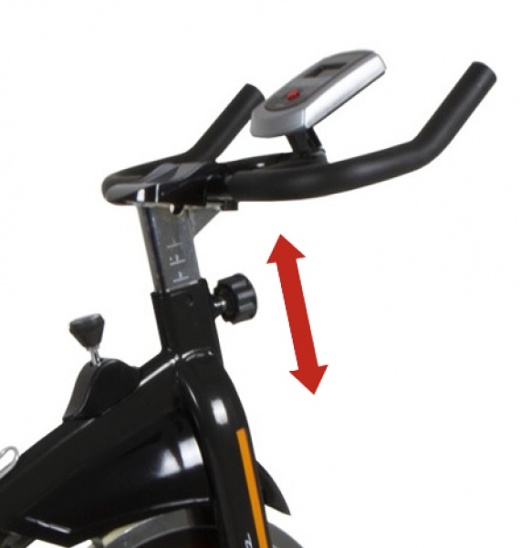 Cyklotrenažér BH FITNESS EVO S2000 řidítka