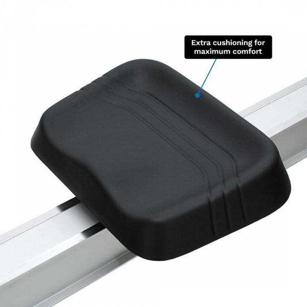 Veslovací trenažér XEBEX Air Rower 2.0 Smart Connect sedlo