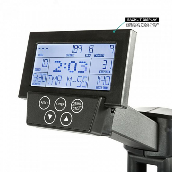 Veslovací trenažér Xebex Air Rower 3.0 pc