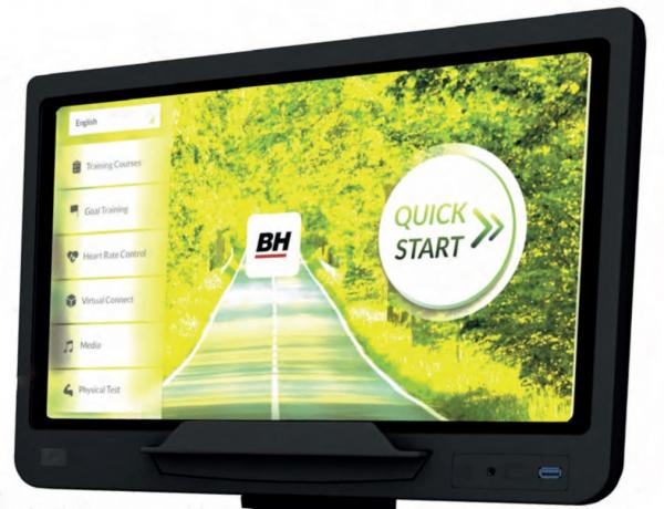 Eliptický trenažér BH Fitness Movemia EV1000 SmartFocus počítač