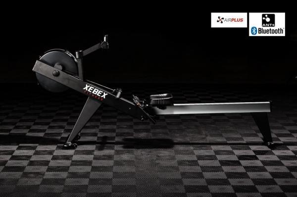 Veslovací trenažér XEBEX Air Rower 2.0 Smart Connect