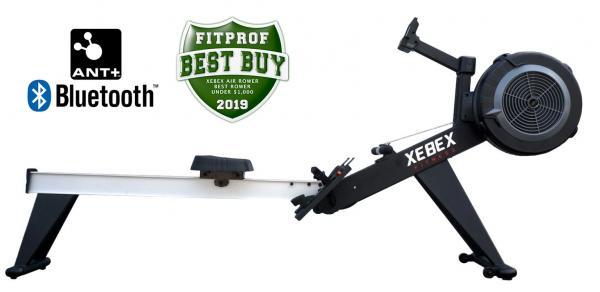 Veslovací trenažér XEBEX Air Rower 2.0 Smart Connect profilovka