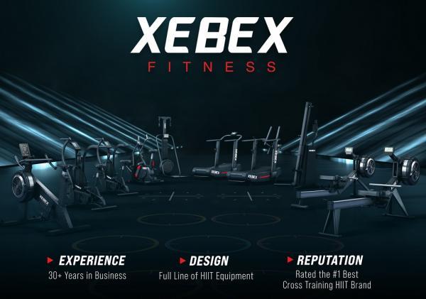Veslovací trenažér 1. Xebex Full Line - High Tech - small