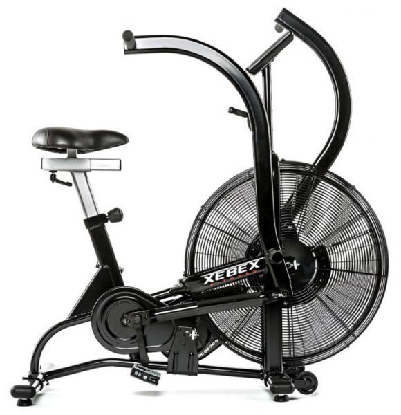 Rotoped XEBEX Air Bike z boku