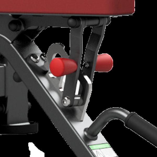 Posilovací lavice MARBO MP-L213 detail 2