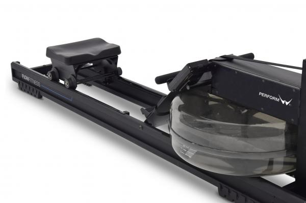 Veslovací trenažér Flow Fitness Perform W7i vodní nádrž
