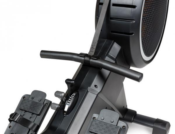 Veslovací trenažér Flow Fitness Yarra m nastavení odporu