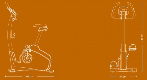 Rotoped Flow Fitness Stelvio i rozměry