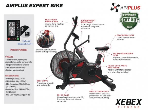 Rotoped XEBEX AirPlus Expert Bike 2.0 banner