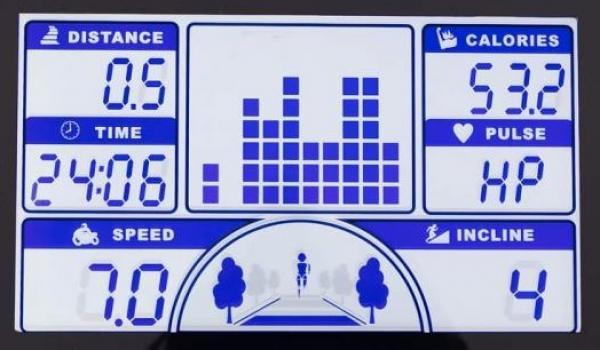 Běžecký pás BH Fitness .F2W DUAL displej
