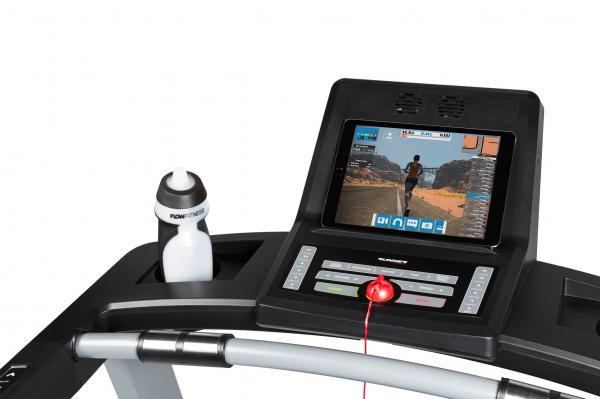 Běžecký pás Flow Fitness DTM2000i počítač app