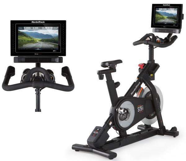Cyklotrenažér NordicTrack Commercial S15i + PC