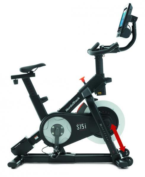 Cyklotrenažér NordicTrack Commercial S15i přední sklon