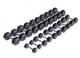 Sada jednoruček pogumovaných HEXA 1 až 10 kg