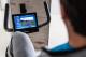 Držadla a LCD displej TUNTURI PURE BIKE R 10.0