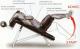 Posilovací lavice na břicho Lavice břicho šikmá - polohovací