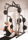 Posilovací lavice s kladkou Hammer Solid XP s činkovým setem 76kg