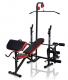 Posilovací lavice na bench press MARBO MH-L103 adaptéry k dokoupení