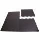 Podložka Fitness puzzle mat černá setg