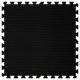 Podložka Fitness puzzle mat černág