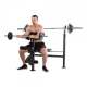 Posilovací lavice na bench press TUNTURI WB60 Olympic Width Weight Bench