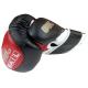 Boxerské rukavice 16 oz kůže Sparring gel BAIL side