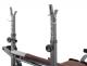 Posilovací lavice na bench press TRINFIT Bench FX2 detail hákyg