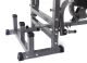 Posilovací lavice na bench press TRINFIT Bench FX5 detail odkládáníg
