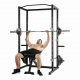 Stojan na činku TUNTURI WT60 Cross Fit Rack bench
