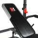 Posilovací lavice na bench press Hammer Bermuda XT Pro opěrka