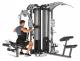 Posilovací věž  FINNLO MAXIMUM M5 multi-gym přítahy v sedě spodní madla