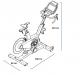 Cyklotrenažér Proform TDF Pro 5.0 rozměry trenažéru