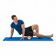 Masážní válec Foam roller 33 cm TUNTURI oranžový workout